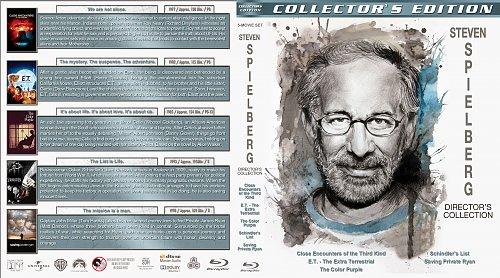 Стивен Спилберг 5в1 / Steven Spielberg Director's Collection (1977-1998)