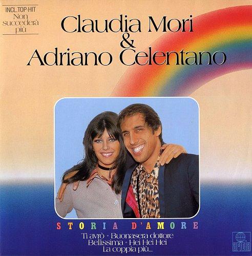 Claudia Mori / Adriano Celentano - Storia d'amore (1982) [LP Ariola 204 971-320]