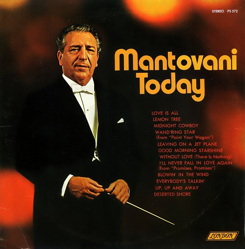 Mantovani - Mantovani Today (1970) [LP London Records PS 572]