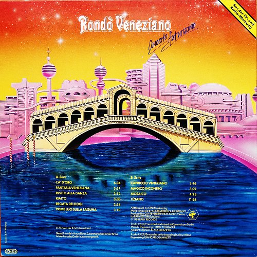 Rondo Veneziano - Concerto Futurissimo (1984) [LP Baby Records TG 1523]