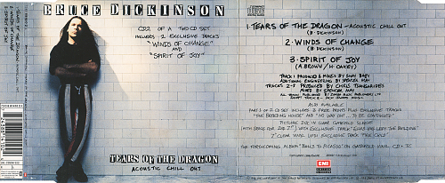Bruce Dickinson (Iron Maiden) - Tears Of The Dragon (1994, CD-Maxi)