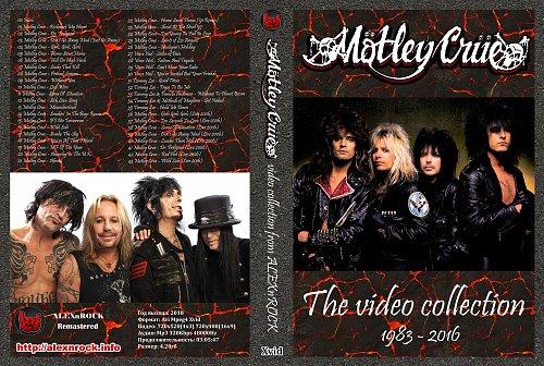 Motley Crue - Video Collection (2018)