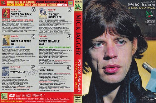 Mick Jagger - Solo Works 1970-2001 (2002)