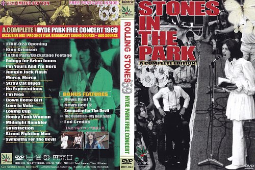 Rolling Stones - Hyde Park Free Concert (1969)
