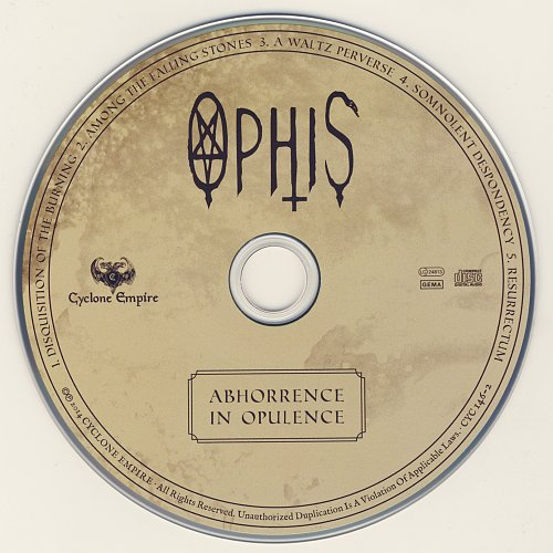 Ophis - Abhorrence in Opulence (2014)