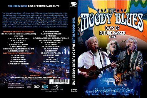 Moody Blues, The - Days of Future Passed Live (2017)
