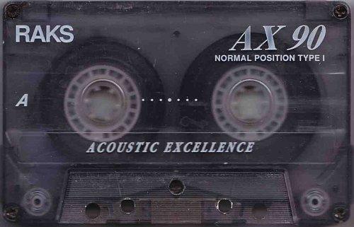 Аудиокассета RAKS AX 90 Acoustic Excellence
