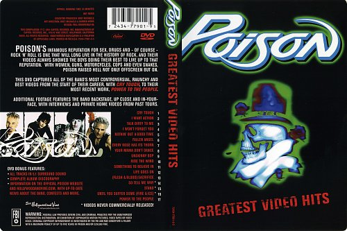 Poison - Greatest Video Hits (2001)