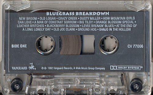 Bluegrass Breakdown. Live, recorded at the Newport Folk Festival - (1992)