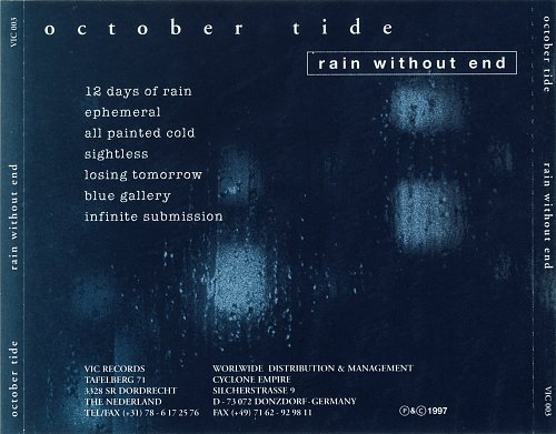 October Tide - Rain Without End (1997)