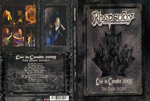 Rhapsody - The Dark Secret Live In Canada (2005)