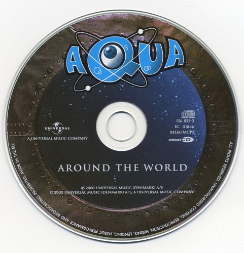 Aqua - Around The World (2000, CD-Maxi)