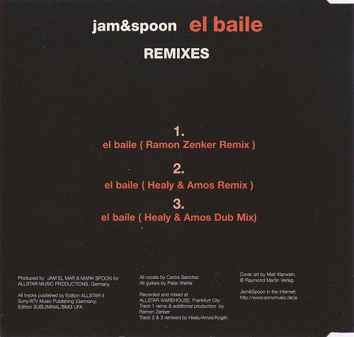 Jam & Spoon - El Baile (1997)