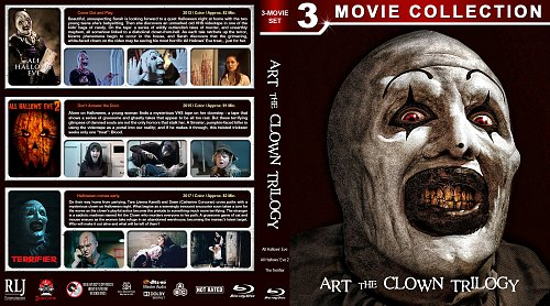 Ужасающий 3в1 / Art the Clown Trilogy (2013-2017)