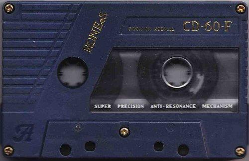 Аудиокассета RONEeS CD-60-F