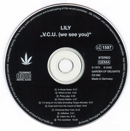 Lily - V.C.U. (We See You) (1973)