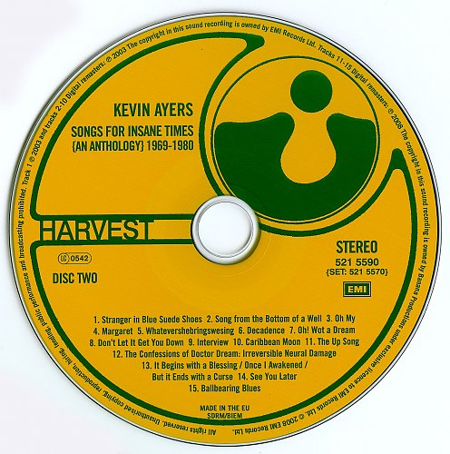 Kevin Ayers - Songs For Insane Times- An Anthology 1969-1980 (4CD) (2008)