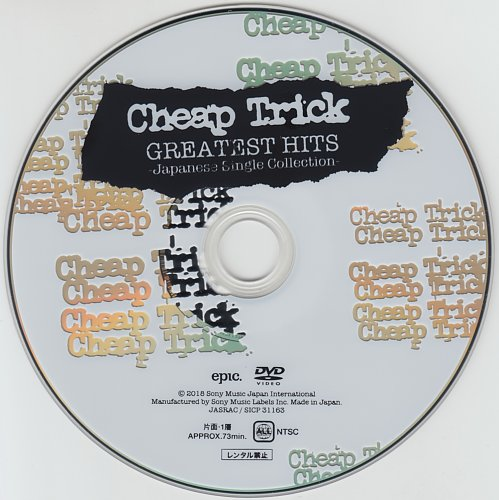 Cheap Trick - Greatest Hits. Japanese Single Collection (2018)