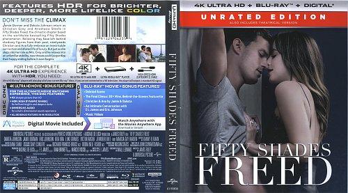 Пятьдесят оттенков свободы / Fifty Shades Freed (2018)