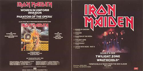 Iron Maiden - Women In Uniform · Twilight Zone (1990)