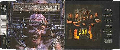 Iron Maiden - Man On The Edge (1995, CD-Maxi)