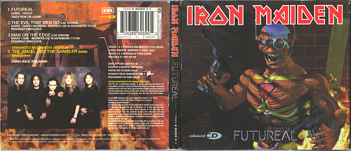 Iron Maiden - Futureal (1998, CD-Maxi)