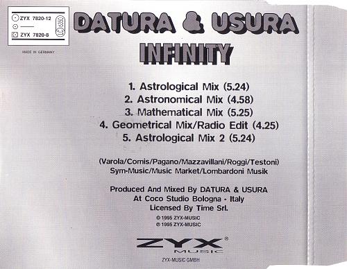 Datura & Usura - Infinity (1995)