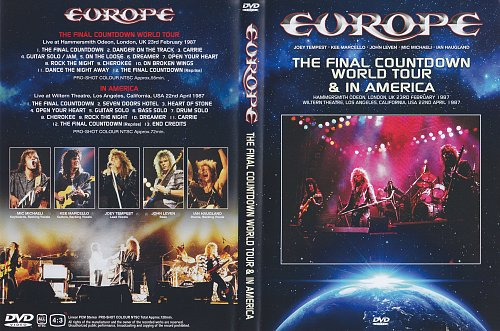 Europe ''Final Countdown In America''