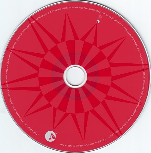 Iron Maiden - Wildest Dreams (2003, CD-Maxi)