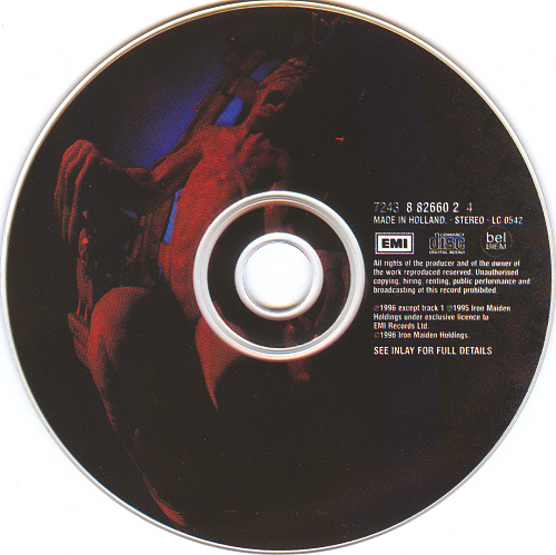 Iron Maiden - Lord Of The Flies (1996, CD-Single)