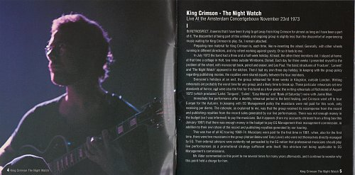 King Crimson - The Night Watch (1997)