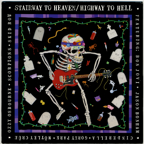 V.A. -Stairway To Heaven - Highway To Hell (1989)