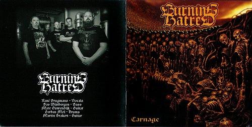 Burning Hatred - Carnage (2016)