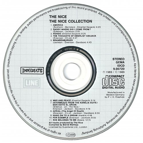 The Nice - The Nice Collection (1989)