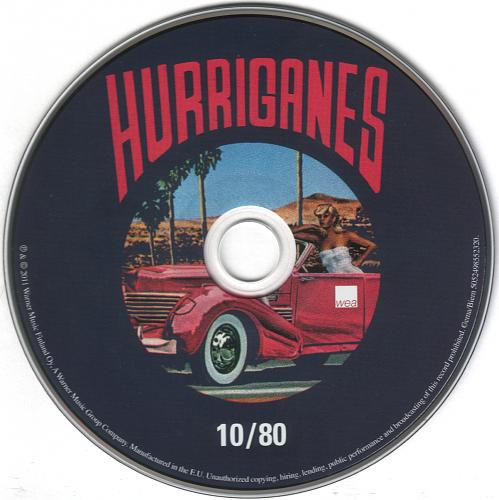 Hurriganes - 10/80 + Jailbird (2011)