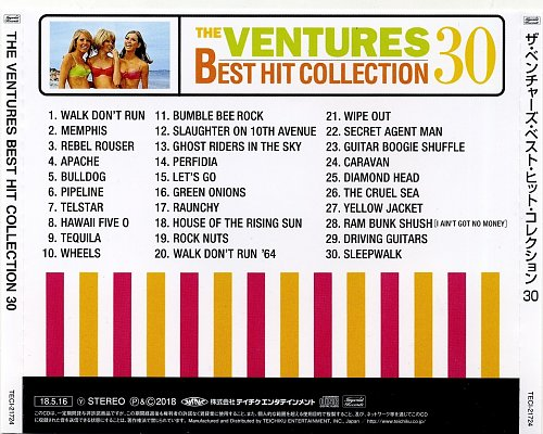 The Ventures - The Ventures Best Hit Collection 30 (2018)