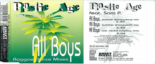 Plastic Age feat. Sara P. - All Boys (1994)