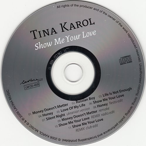 Кароль Тина - Show Me Your Love (2006)