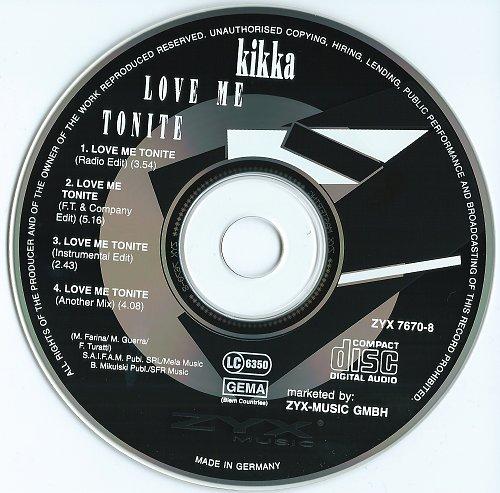 Kikka - Love Me Tonite (1995)