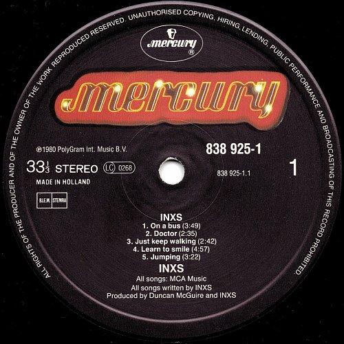 INXS - INXS (1980)