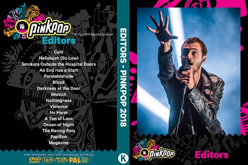 Editors - Pinkpop (2018)
