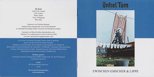 Onkel Tom - Zwischen Emscher & Lippe (2018, EP)