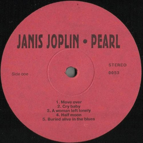 Janis Joplin - Pearl (1971/1994) [LP Апрелевка Саунд M 0053]