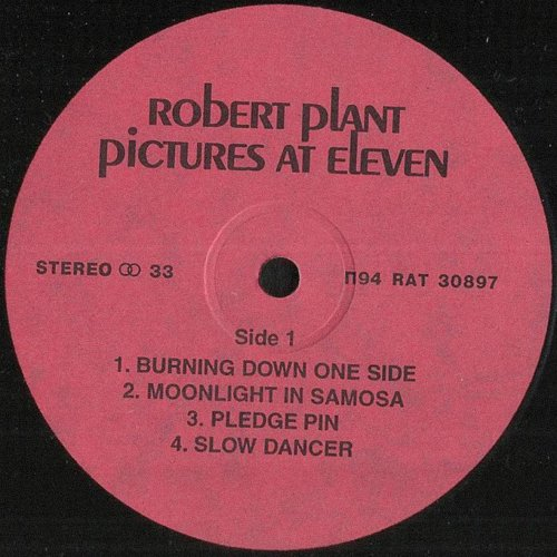 Robert Plant - Pictures At Eleven (1982/1994) [LP Santa Records П94 RAT 30897]
