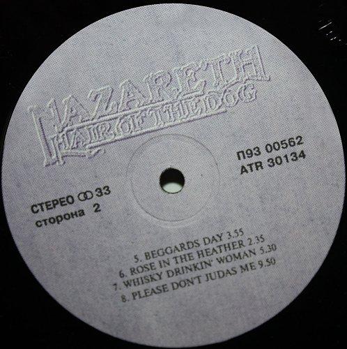 Nazareth - Hair Of The Dog (1975/1993) [LP AnTrop / Santa П93 00561-2, ATR 30133-4]