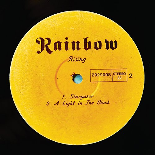Rainbow - Rising (1976) [LP Not On Label 2929098, RIS 333]