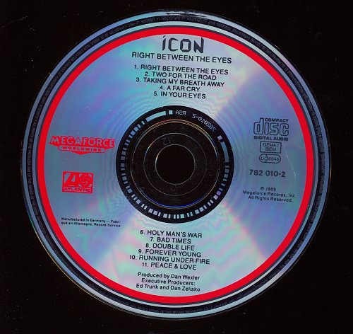 Icon - Right Between The Eyes (1989)