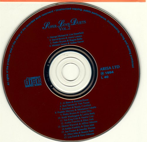 Super Love Duets, vol. II (1994)