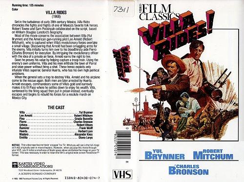 Villa Rides / Вилья в седле (1968)