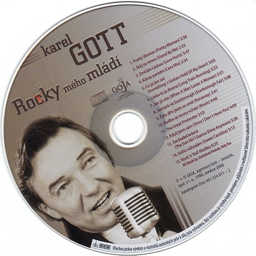 Karel Gott - Ro(c)ky Meho Mladi (2008)